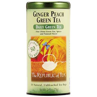 Image For Republic of Tea - Green Tea - Ginger Peach