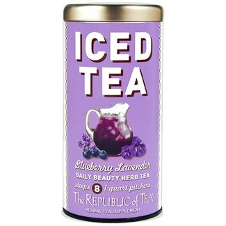 Image For Republic of Tea - Iced Daily Beauty - Blueberry Lavender