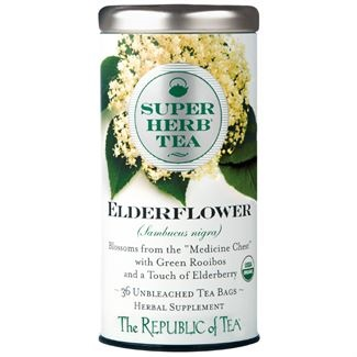 Image For Republic of Tea - SuperHerb - Organic Elderflower