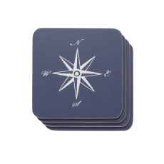 Image For Now Designs - Coaster Set - Compass