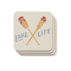 Image For Now Designs - Coaster Set - Lake Life
