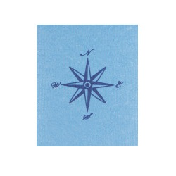 Image For Now Designs – Dish Towel – Swedish Sponge - Compass