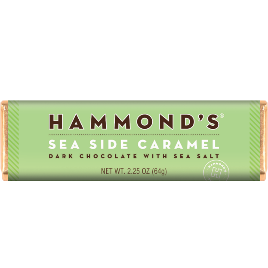 Image For Hammonds Candies - Chocolate Bar - Sea Side Caramel