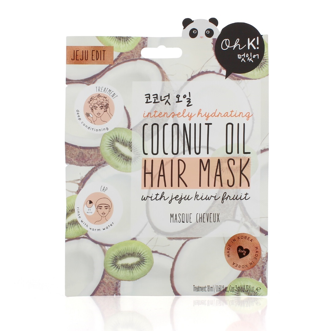 Image For NPW-USA – Sheet Mask – Coconut Oil Hair
