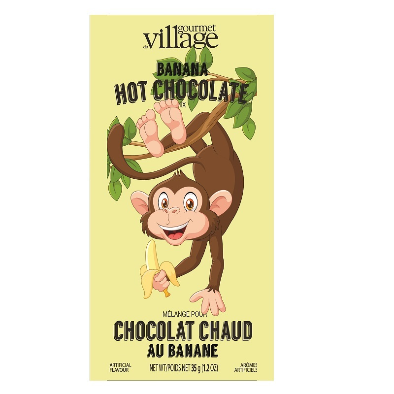 Image For Gourmet Du Village – Hot Chocolate Mini Monkey – Banana