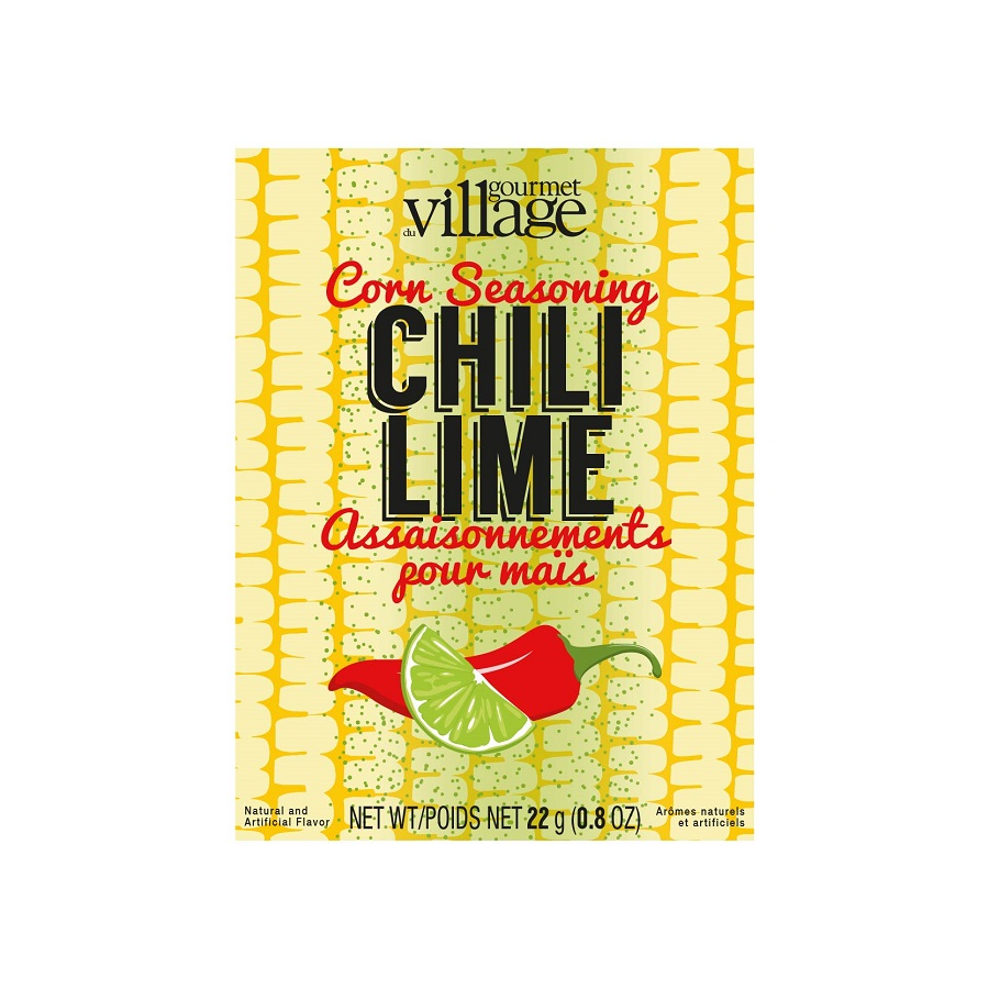 Image For Gourmet Du Village – Recipe Box – Corn Chili Lime Seasoning