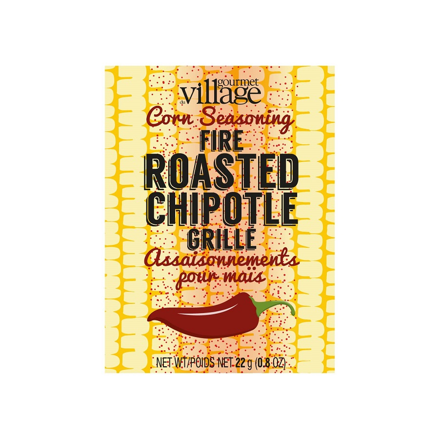 Image For Gourmet Du Village – Recipe Box- Fire Roasted Chipotle