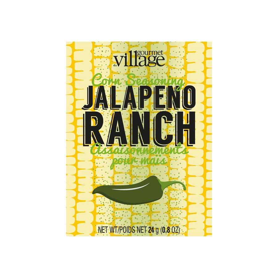 Image For Gourmet Du Village – Recipe Box - Jalapeno Ranch