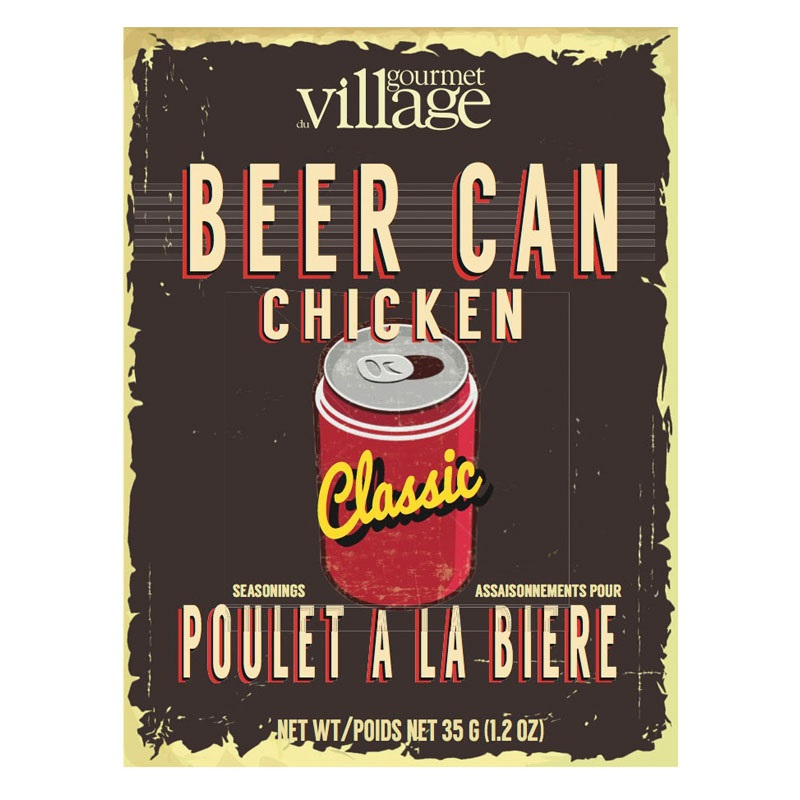 Image For Gourmet Du Village – Beer Can Chicken Roaster Seasoning