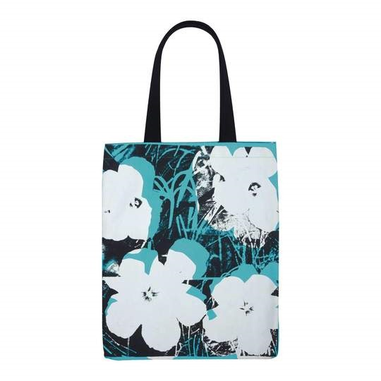 Image For Hachette – Tote Bag – Andy Warhol - Poppies
