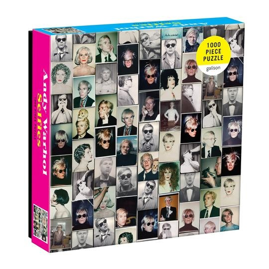 Image For Hachette – Puzzle - Andy Warhol - Selfies
