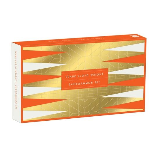 Image For Hachette – Game - Frank Lloyd Wright - Backgammon