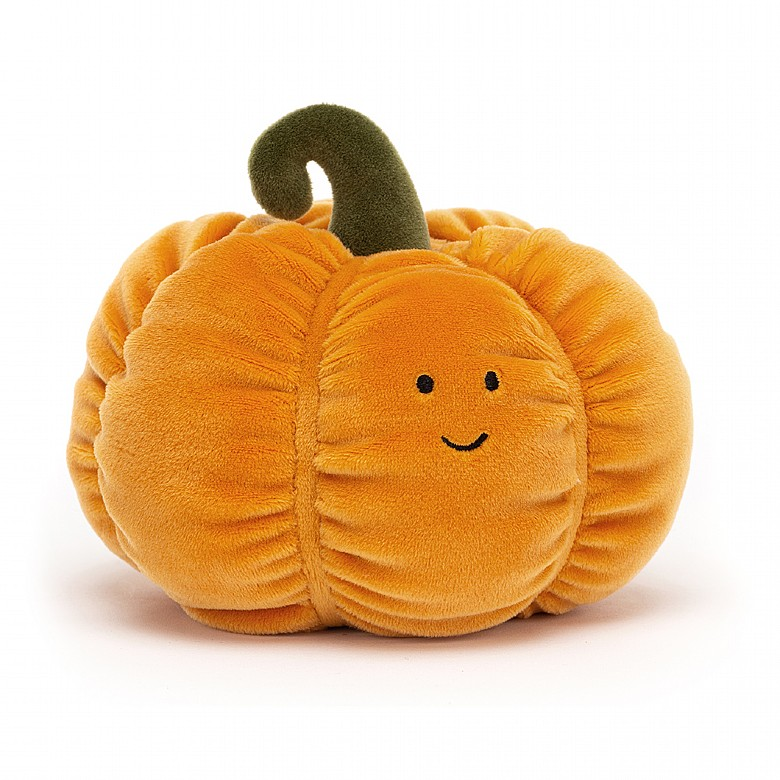 Image For JellyCat - Vivacious Vegetables - Pumpkin