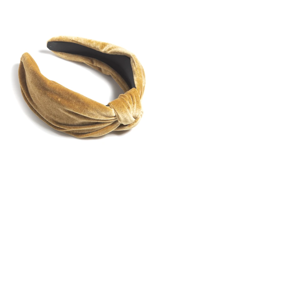 Image For Shiraleah - Headband - Knotted Gold