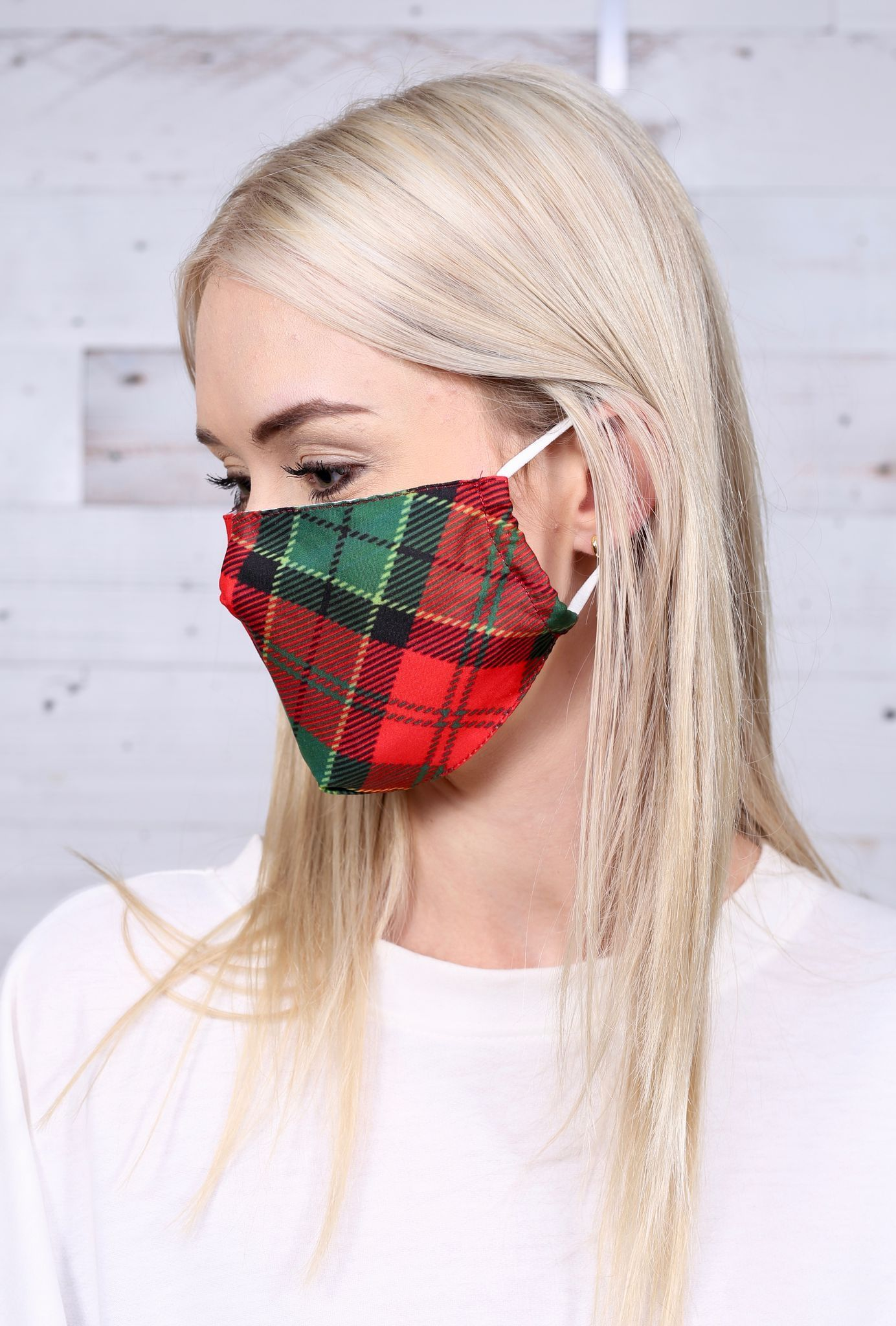 Cover Image For Caroline Hill - Mask - Plaid Rafferty