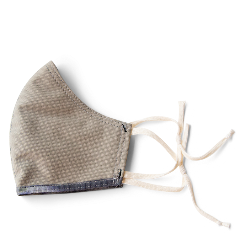 Image For Moop Canvas Bag - Mask - Light Sage Green