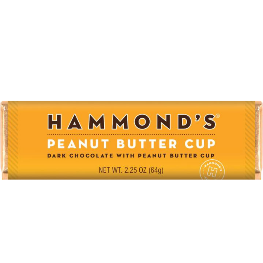 Image For Hammonds Candies - Chocolate Bar - Peanut Butter Cup