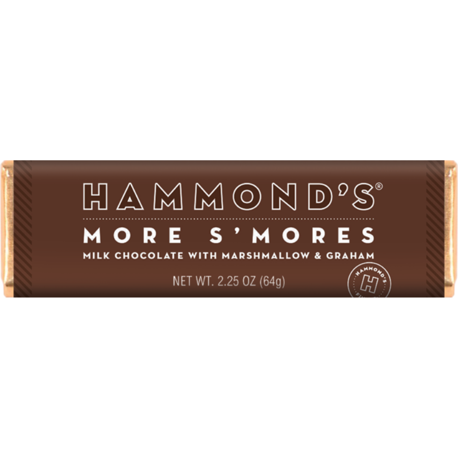 Image For Hammonds Candies - Chocolate Bar - More S'mores